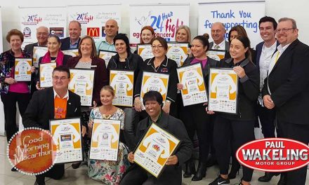 24 Hour Fight Against Cancer Macarthur Year Launched