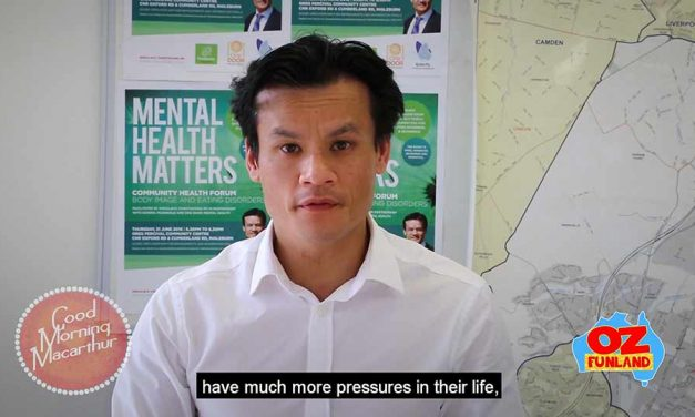 Anoulack Chanthivong's Mental Health Forum