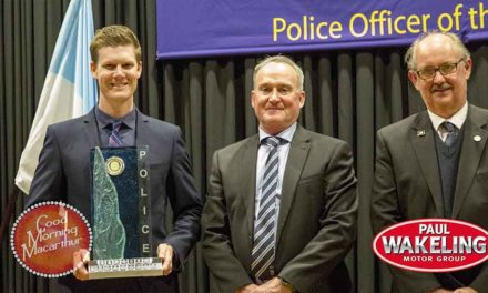 David Blom is Police Officer of the Year 2018