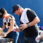 Celebrity chef Manu cooks for charity