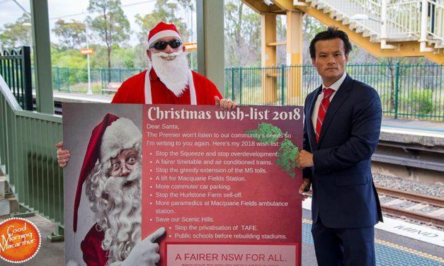 MP's Wish List for Santa