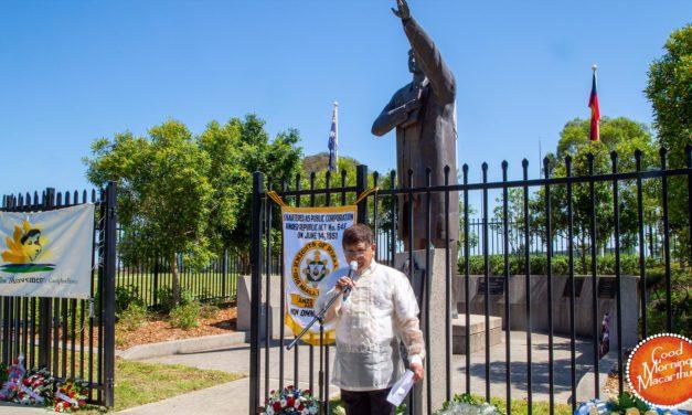 Commemorating Dr Rizal's martyrdom