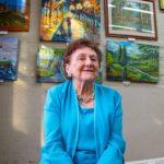 Jean Novek is Camden's artist of this month