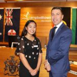 Iesha, Kayesha & Zahraa receive Campbelltown Council's WSU Scholarships