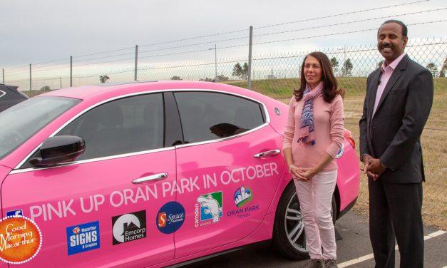 Pinking up Oran Park