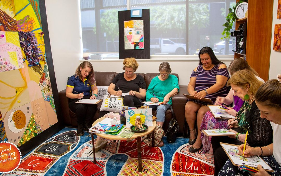 Therapeutic Art Group is a Fisher's Ghost Art Award finalist