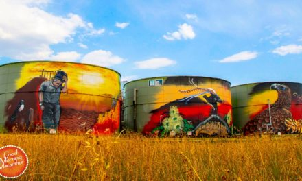 Joe Quilter gives Wilton tanks a vibrant makeover