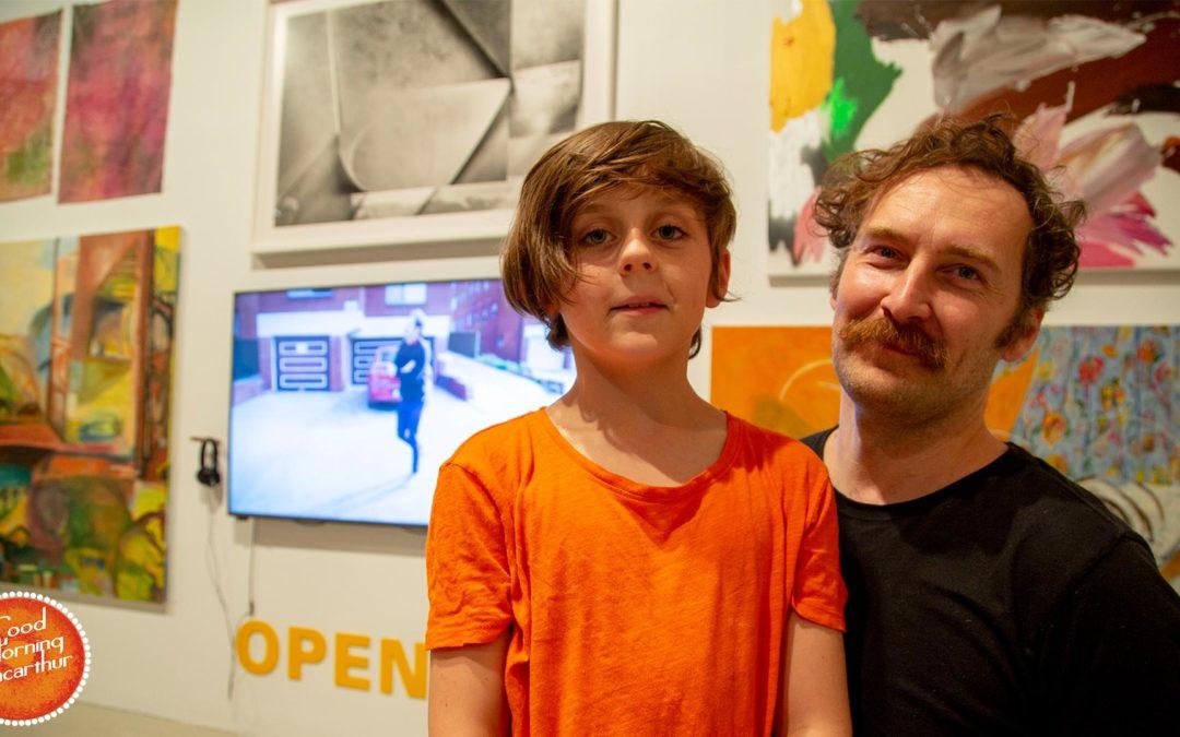 Kuba Dorabialski tops the prestigious Open Category in Fisher's Ghost Art Awards