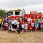 Menanagle Park Firies take Santa around