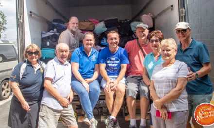 Silver Coin Project delivers Back to School packs to fire-affected kids